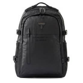 ゲス GUESS CASUAL LETTERING BACKPACK (BLACK)