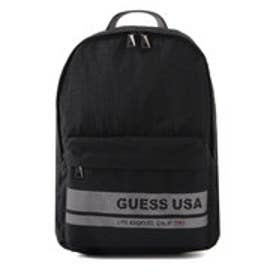 ゲス GUESS MESH LETTERING BACKPACK (BLACK)