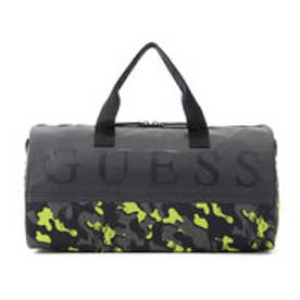 ゲス GUESS GRAFFITI DUFFEL (GREY MULTI)
