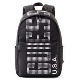ゲス GUESS LOGO CASUAL BACK PACK (BLACK)