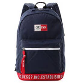 ゲス GUESS LOGO CASUAL BACK PACK (NAVY)