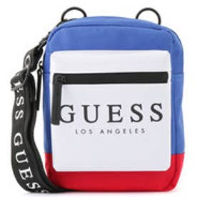 ゲス GUESS CHROMATIC MINI FRONT SLING (BLUE MULTI)