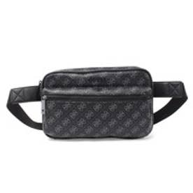 ゲス GUESS 4G SPORT MEDIUM WAIST BAG (BLACK)