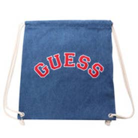 ゲス GUESS Originals APPLIQUE DENIM KNAPSACK (MEDIUM BLUE)【JAPAN EXCLUSIVE ITEM】