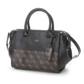 ゲス GUESS HAILEY SMALL SATCHEL (BLACK MULTI)