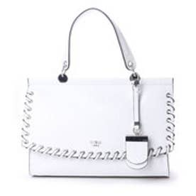ゲス GUESS ゲス GUESS ANDIE TOP HANDLE FLAP (WHITE)