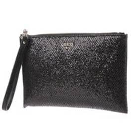 ゲス GUESS XENIA CROSSBODY CLUTCH (BLACK)
