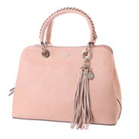 ゲス GUESS FYNN GIRLFRIEND SATCHEL (BLUSH)