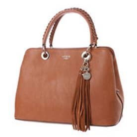 ゲス GUESS FYNN GIRLFRIEND SATCHEL (COGNAC)