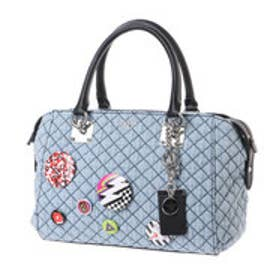 ゲス GUESS ROCHELLE SMALL SATCHEL (DENIM)