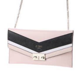 ゲス GUESS SLATER MINI CROSSBODY CLUTCH (POWDER MULTI)