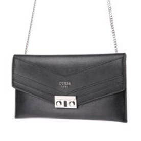 ゲス GUESS SLATER MINI CROSSBODY CLUTCH (BLACK)