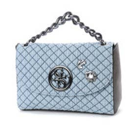 ゲス GUESS G LUX CROSSBODY FLAP (DENIM)