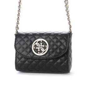 ゲス GUESS G LUX MINI CROSSBODY FLAP (BLACK)