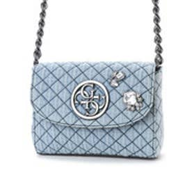 ゲス GUESS G LUX MINI CROSSBODY FLAP (DENIM)