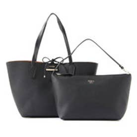 ゲス GUESS BOBBI INSIDE OUT TOTE (BLACK MULTI)