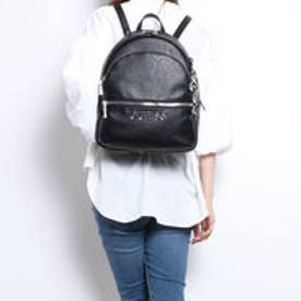 ゲス GUESS MANHATTAN LOGO BACKPACK (BLACK)