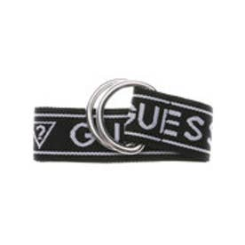 ゲス GUESS LOGO WEBING BELT (BLACK)