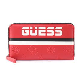 ゲス GUESS GUESS SPORT FULL ZIP WALLET (RED)