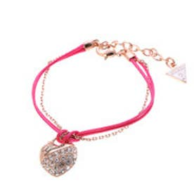 ゲス GUESS FUCHS CORD CRUSH BRACELET ROSE GOLD