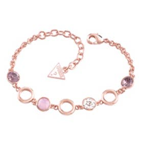 ゲス GUESS STONE BRACELET ROSE GOLD