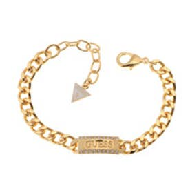 ゲス GUESS B-GUESS LABEL BRACELET (GOLD)