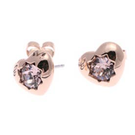 ゲス GUESS E-MINI HEART STUD PIERCE (ROSE GOLD) ピアス【両耳】