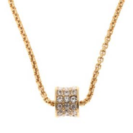ゲス GUESS 3ROW PAVEE NECKLACE (GOLD)
