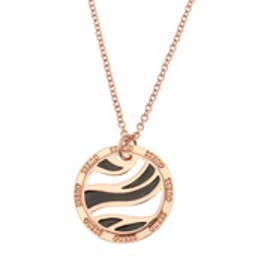 ゲス GUESS OPEN COIN NECKLACE (ROSE GOLD)