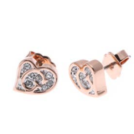 ゲス GUESS E-G HEART STUD PIERCE (ROSE GOLD) ピアス【両耳】