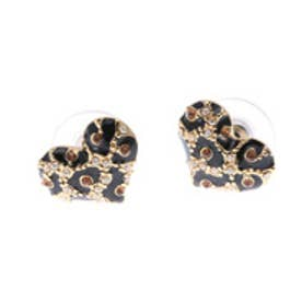 ゲス GUESS E-MINI LEO HEART STUD  PIERCE (GOLD) ピアス【両耳】