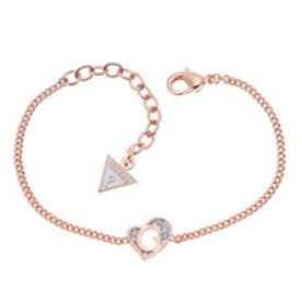 ゲス GUESS B-G HEART BRACELET ROSE GOLD