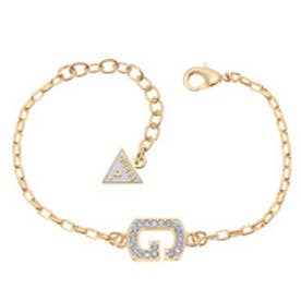 ゲス GUESS B-LITTLE SPARKLE G CHAIN BRACELET (GOLD)