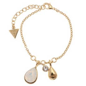 ゲス GUESS B-COLORED MULTI DROP BRACELET (GOLD)