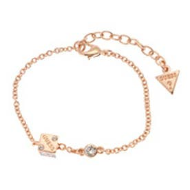 ゲス GUESS B-COLOR PAVE SIDED DICE BRACELET (ROSE GOLD)