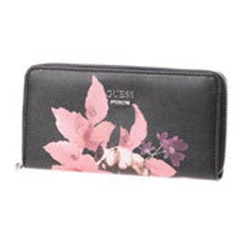 ゲス GUESS ASHVILLE  MEDIUM ZIP AROUND WALLET (BLACK)