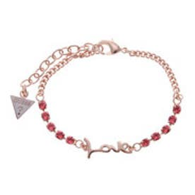 ゲス GUESS B-LOVE BRACELET (ROSE GOLD)