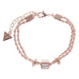 ゲス GUESS G COLORS B-3 BEADS AURORA CRYSTAL BRACELET (ROSE GOLD)
