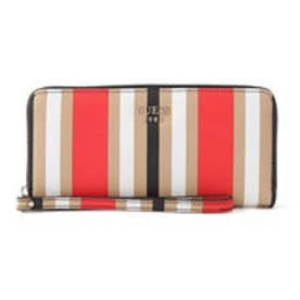 ゲス GUESS KEATON LARGE ZIP AROUND WALLET (MULTI STRIPE)