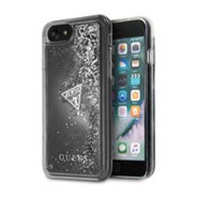 ゲス GUESS LIQUID GLITTER HARD CASE for iPhone 8 (SILVER)