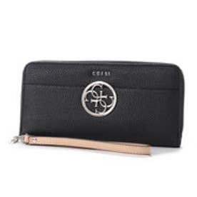 ゲス GUESS KAMRYN LARGE ZIP AROUND WALLET (BLACK)