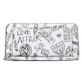 ゲス GUESS SALLY LARGE ZIP AROUND WALLET (GRAFFITI)