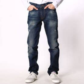 ゲス GUESS SLIM STRAIGHT DENIM PANT (DAVISON WASH 2 DESTROY)