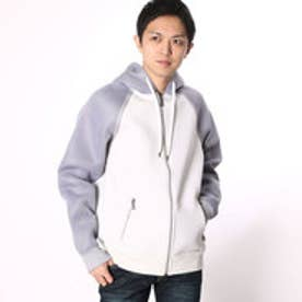 ゲス GUESS CRUZ SCUBA-KNIT MESH HOODY