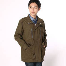ゲス GUESS MEN'S WOVEN JACKET (KHAKI)