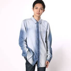 ゲス GUESS FIERINESS WASH SLIM-FIT DENIM SHIRT (FIERINESS WASH)