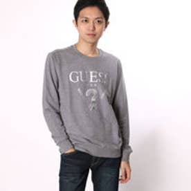 ゲス GUESS MEN'S L/S LOGO CREW SWEAT