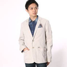 ゲス GUESS CASUAL BLAZER JACKET (RAW BEIGE)