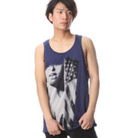 ゲス GUESS SL STREAM AMERICAN GIRL TANK (EVENING BLUE)