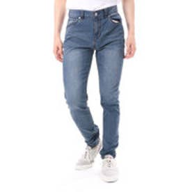 ゲス GUESS REGULAR-RISE RELAXED TAPER DENIM PANT (MEDIUM BLUE)